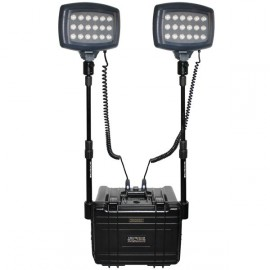 PHARE SOLARIS SOLO 18 LEDS + VALISE + MAT + CHARGEUR 220V