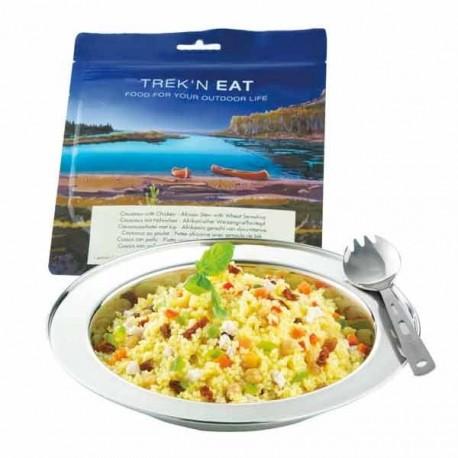 Plats de viande Couscous au poulet et aux légumes - 200g / 638 kcal