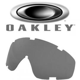 Verre de rechange Oakley SI GOOGLE pour masque balistique - Fumé