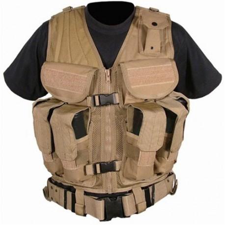 Gilet de combat Condor Outdoor Elite Tactical Vest sur www.equipements-militaire.com