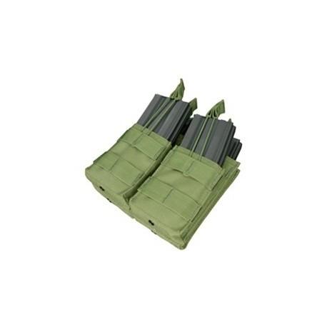 Pochette porte-chargeurs multiple Condor Outdoor Double Stacker pour M4 sur www.equipements-militaire.com