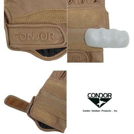 Gants tactiques Kevlar Condor Outdoor sur www.equipements-militaire.com