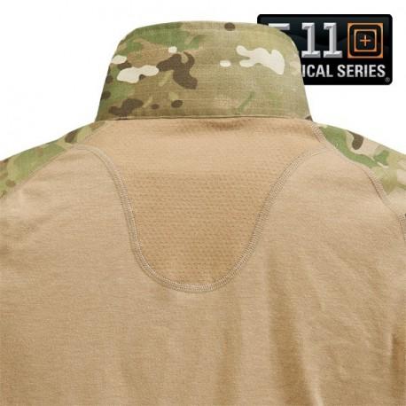 Chemise de combat 5.11 Tactical RAS sur www.equipements-militaire.com