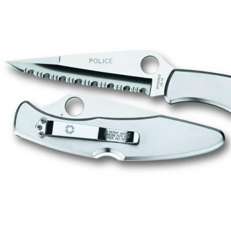 Couteau Spyderco Police sur www.equipements-militaire.com