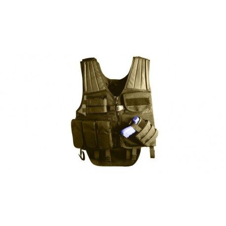 Gilet de combat Uncle Mike's Tactical Cross Draw Entry Vest sur www.equipements-militaire.com