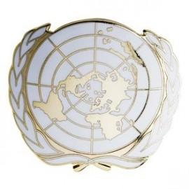 Insigne béret ONU sur www.equipements-militaire.com