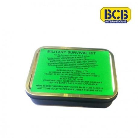 Kit de survie militaire BCB International sur www.equipements-militaire.com