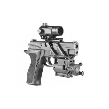 Brise-vitre pour arme FAB Defense WB2 sur www.equipements-militaire.com