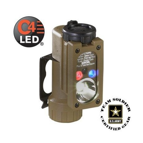 Lampe tactique Streamlight Sidewinder Compact sur www.equipements-militaire.com