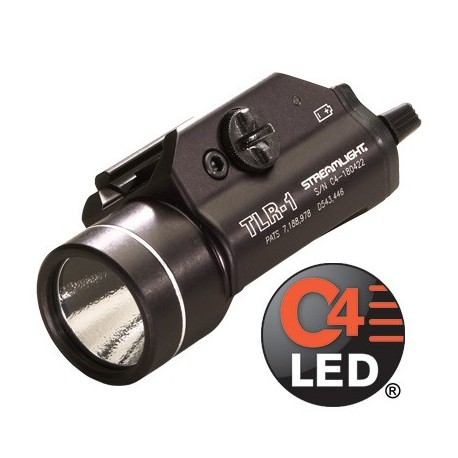 Lampe tactique Streamlight TLR-1 sur www.equipements-militaire.com