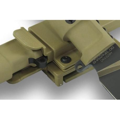 Couteau de combat Extrema Ratio Shrapnel OG sur www.equipements-militaire.com