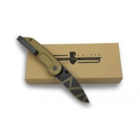 Couteau de combat Extrema Ratio BF1 Classic Drop sur www.equipements-militaire.com