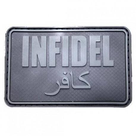 Patch militaire Infidel sur www.equipements-militaire.com