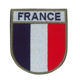 Ecusson militaire drapeau France