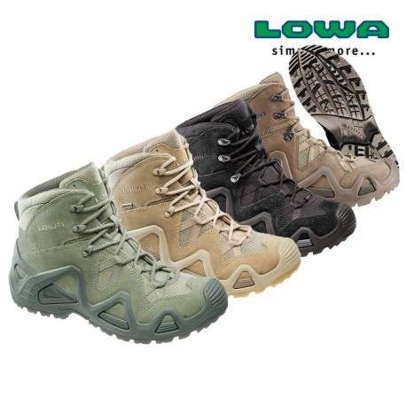 Chaussures Lowa Zephyr GTX MID TF sur www.equipements-militaire.com