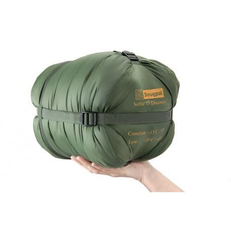 Sac de couchage Snugpak Softie 15 Discovery sur www.equipements-militaire.com