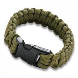Bracelet paracorde avec mini-scie CRKT Onion Survival Para-Saw