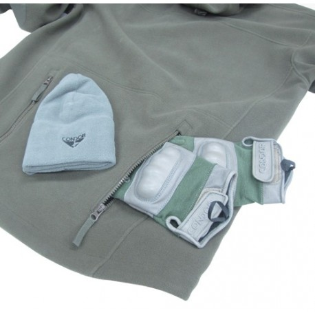 Veste polaire Condor Outdoor Sierra Hooded Fleece Jacket sur www.equipements-militaire.com