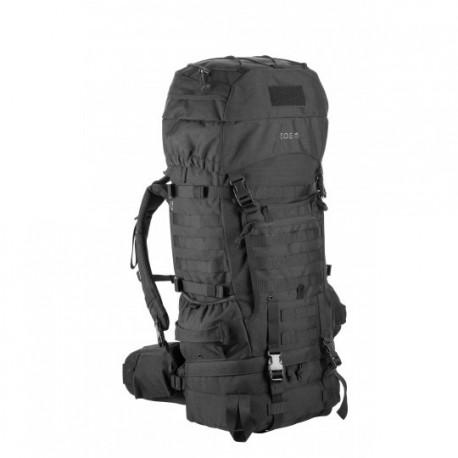 Sac militaire Expedition T.O.E 65L NOIR chez www.equipements-militaire.com