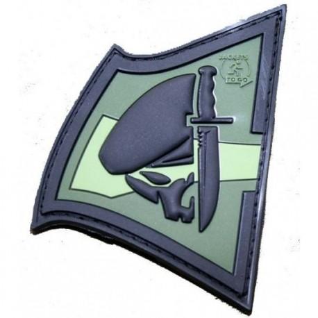 Patch militaire Rebel Skull chez www.equipements-militaire.com