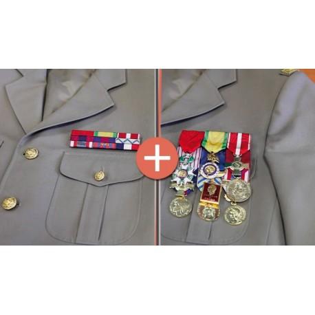 Kit Opex porte-médailles et barrettes militaires sur www.equipements-militaire.com