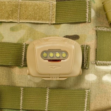 Lampe Princeton Tec Quad Tac MPLS chez www.equipements-militaire.com