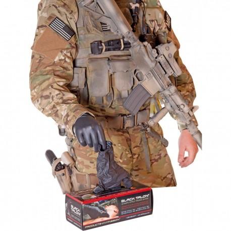 Gants nitrile North American Rescue Black Talon sur Equipements-militaire.com