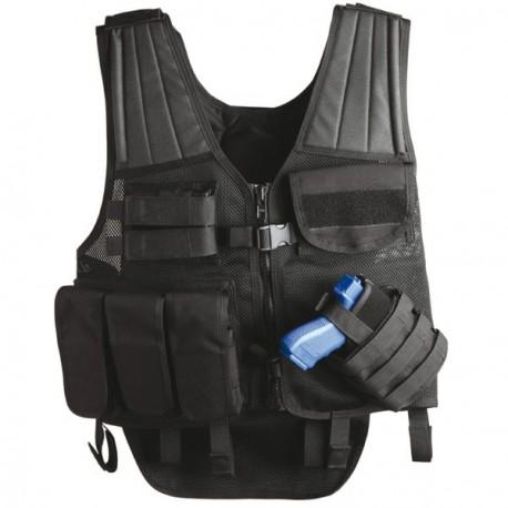 Gilet de combat Uncle Mike's Tactical Cross Draw Entry Vest sur www.equipements-militaire.com