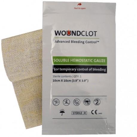 Pansement hémostatique WoundClot chez www.equipements-militaire.com