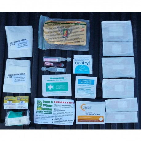 Basic Trauma Kit KST/ATS ASCENSIO chez www.equipements-militaire.com