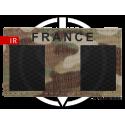 Patch Fieldcut IR drapeau France LP Tactical