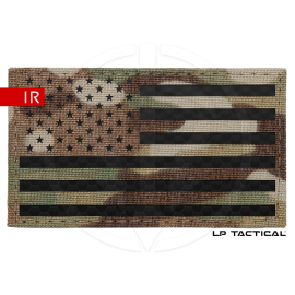 Patch Fieldcut drapeau IR USA LP Tactical chez www.equipements-militaire.com