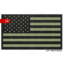 Patch Infrared drapeau USA LP Tactical