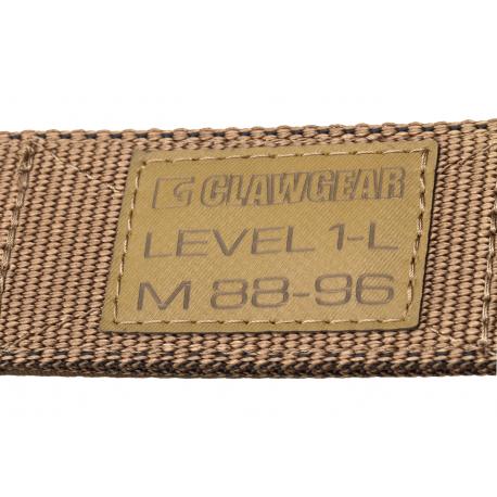 Ceinture Clawgear Level 1-L Belt chez www.equipements-militaire.com