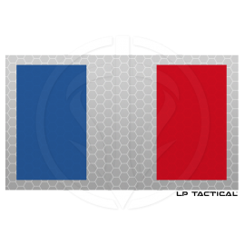 Patch Reflective Full Color drapeau France LP Tactical chez www.equipements-militaire.com