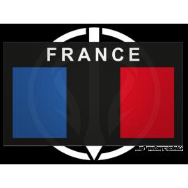 Patch Reflective Low Visi drapeau France LP Tactical