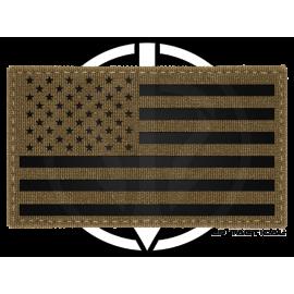 Patch Fieldcut Reflective USA Tactical