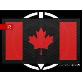 Patch Infrared drapeau Canada LP Tactical chez www.equipements-militaire.com