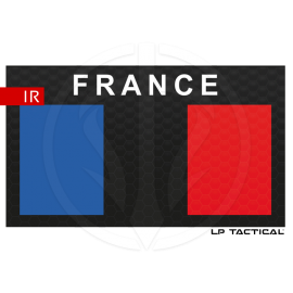 Patch Infrared Low vis drapeau FRANCE LP Tactical chez www.equipements-militaire.com