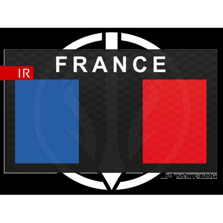 Patch Infrared Low vis drapeau FRANCE LP Tactical chez www.equipements-militaire.com