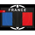 Patch Infrared Low vis drapeau FRANCE LP Tactical
