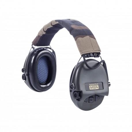 Casque anti-bruit Suprême Pro-X serre-tête vert OD chez www.equipements-militaire.com