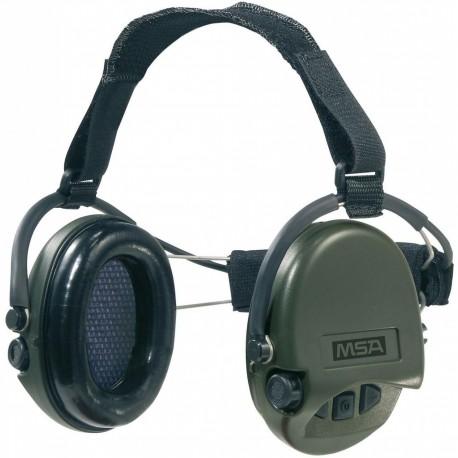 Casque anti-bruit Suprême Pro-X MSA serre-nuque coussinets mousse