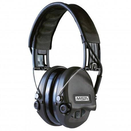 Casque anti-bruit Suprême Pro MSA serre-tête coussinets mousse
