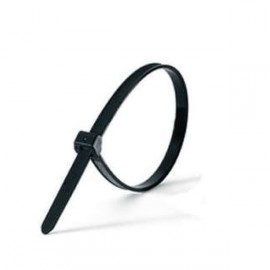 Menotte Plastique Jetable Noire / Blanche