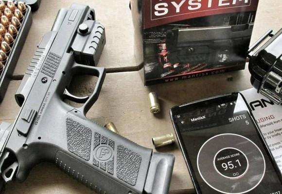 Présentation MantisX système d'entraînement au tir